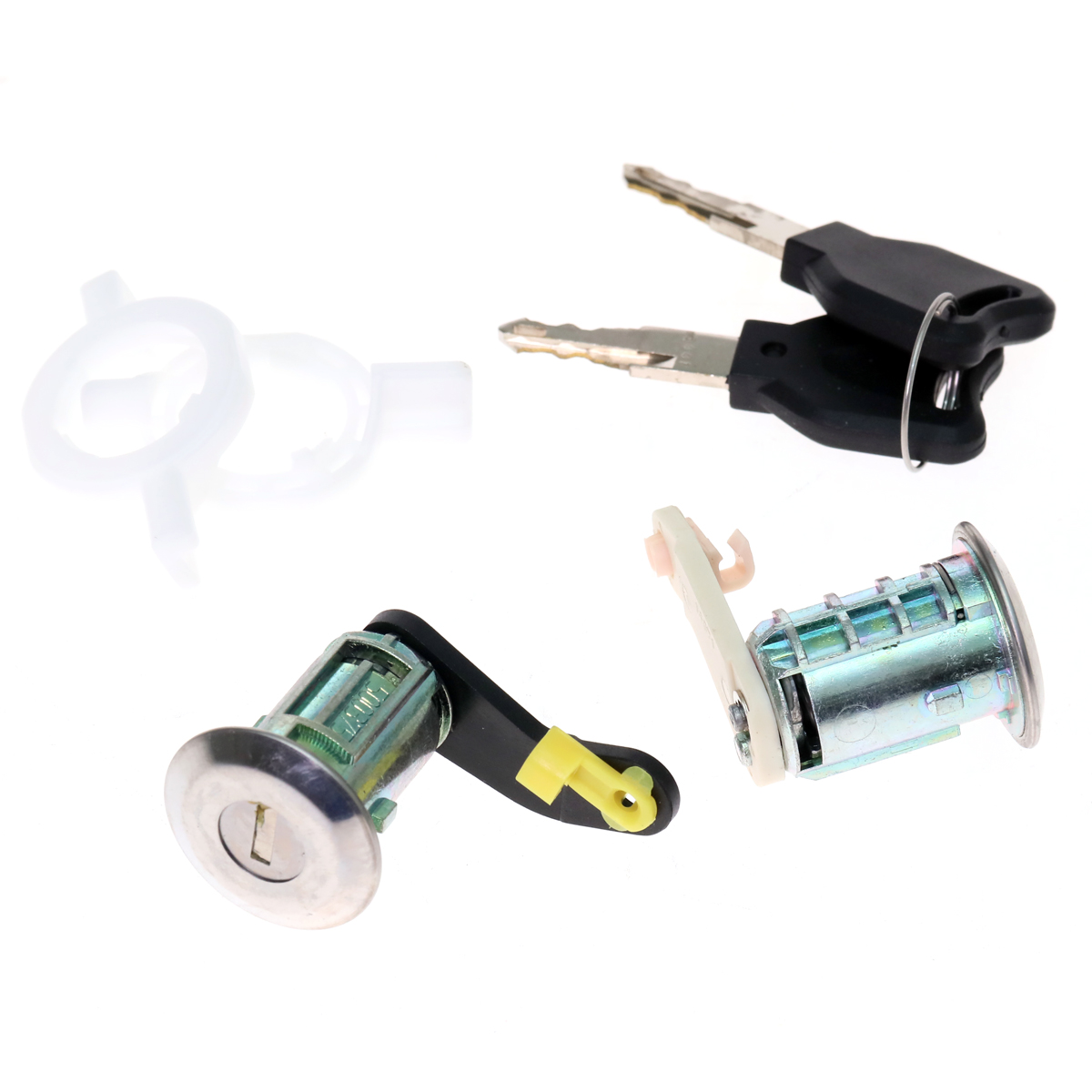 RENAULT CLIO 2 II GRANDE MEGANE SCENIC MASTER MK2 CAMPUS DOOR LOCKS SET NEW PAIR